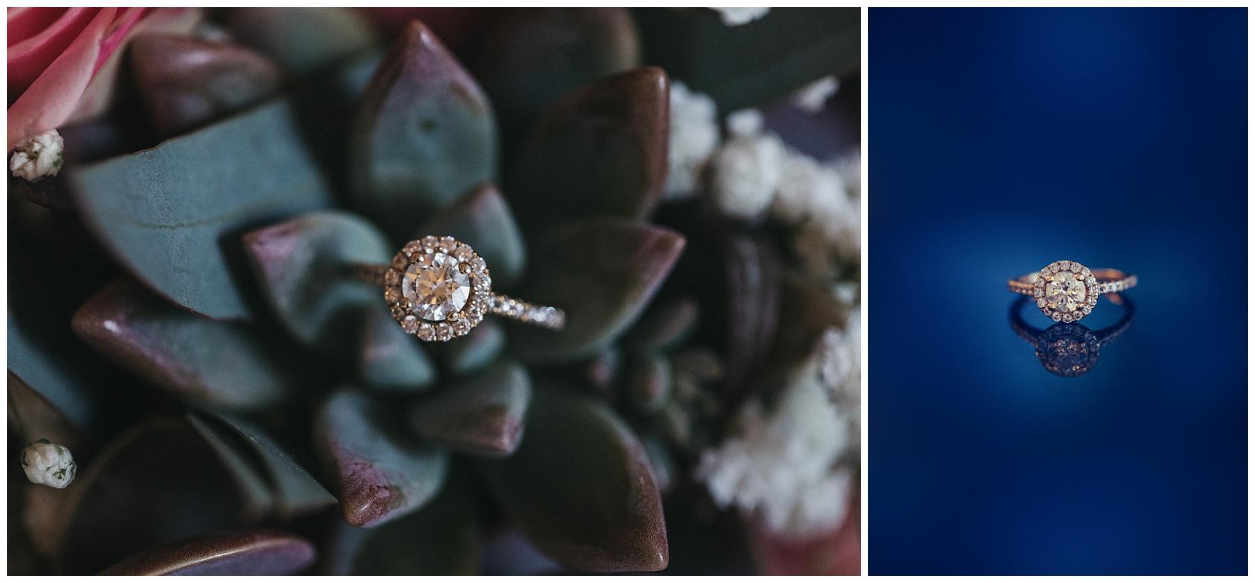 House of K'Dor engagement ring