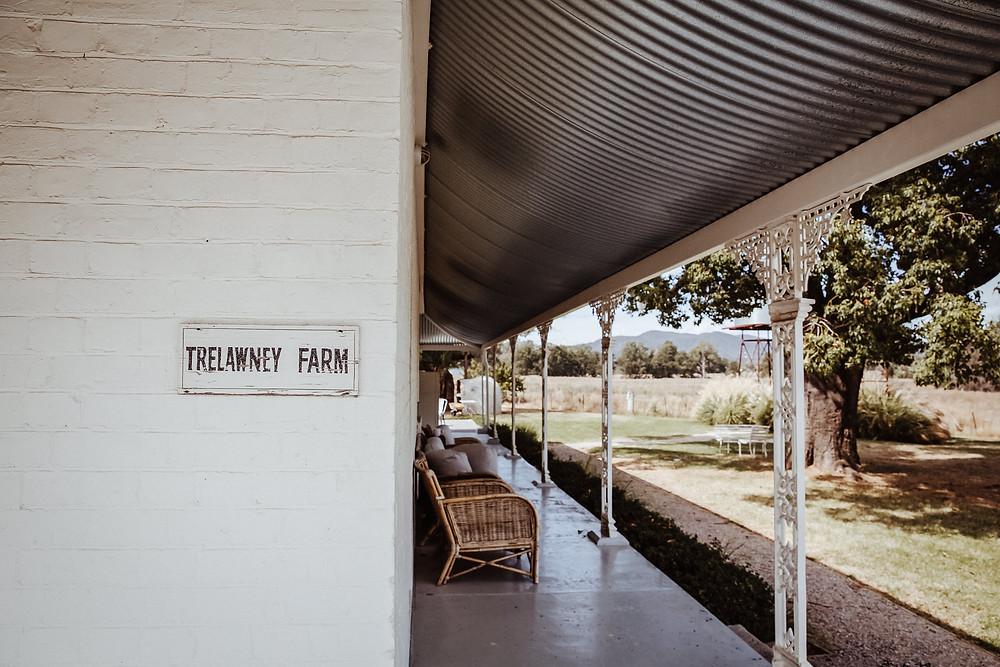 trewlaney farm wedding venue