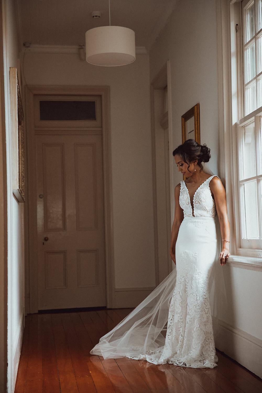 bridal portrait de lumiere photography