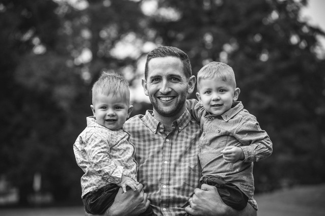 Father and sons captured by blue mountains family photographer de lumiere photography