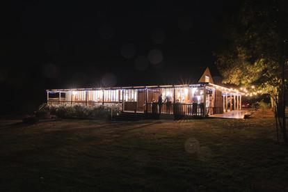 waldara farm barn at night country wedding de lumiere photography