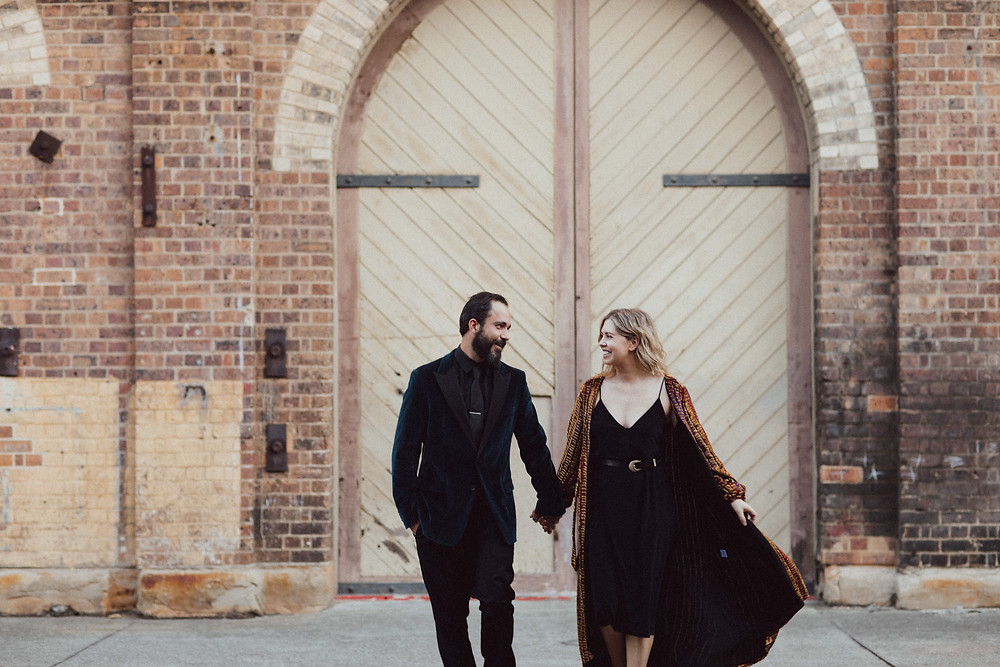urban engagement portrait session carriageworks