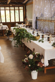 styled bridal table country wedding de lumiere photography