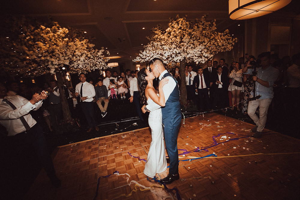 first dance hydro majestic wedding photographer