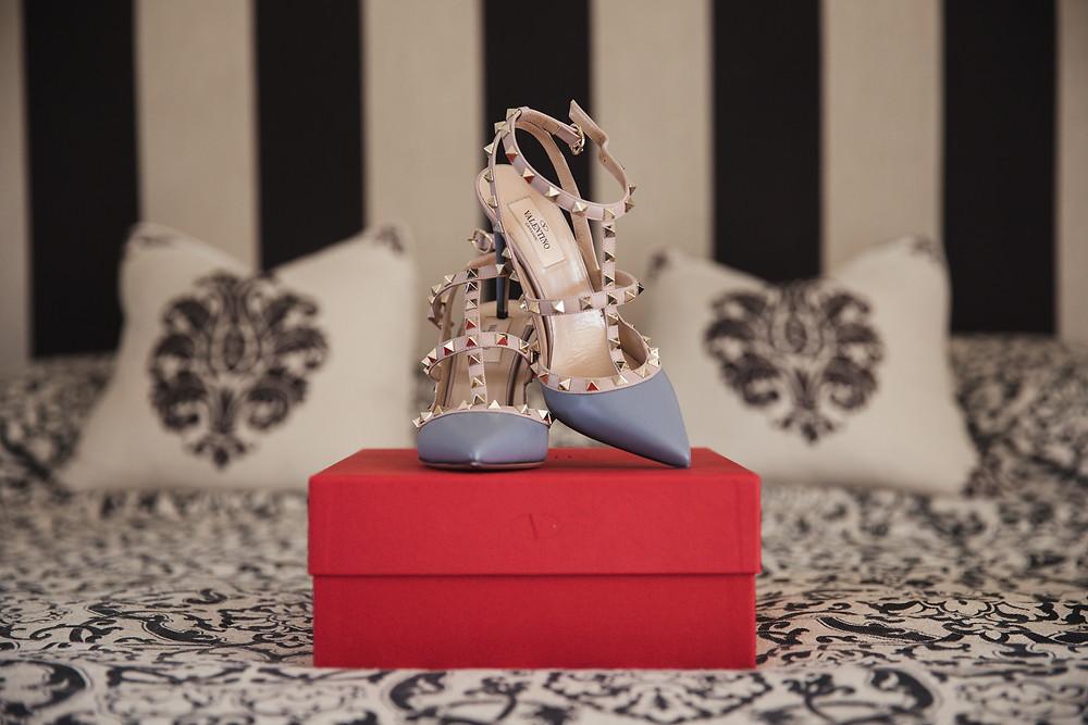valentino wedding shoe inspiration de lumiere photography destination wedding photographer