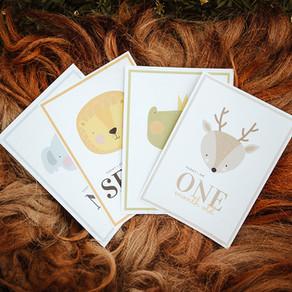 FREE Printable Baby Milestone Cards // Sydney Newborn Photographer