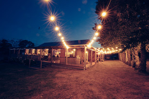 professional wedding photography waldara farm at night
