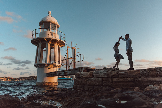 engagement photography sydney