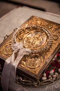 the little details at a greek orthodox wedding