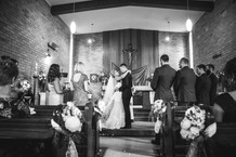 blue mountains professional wedding photography church wedding
