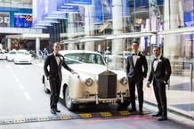 the groom and his boys outside the hilton sydney