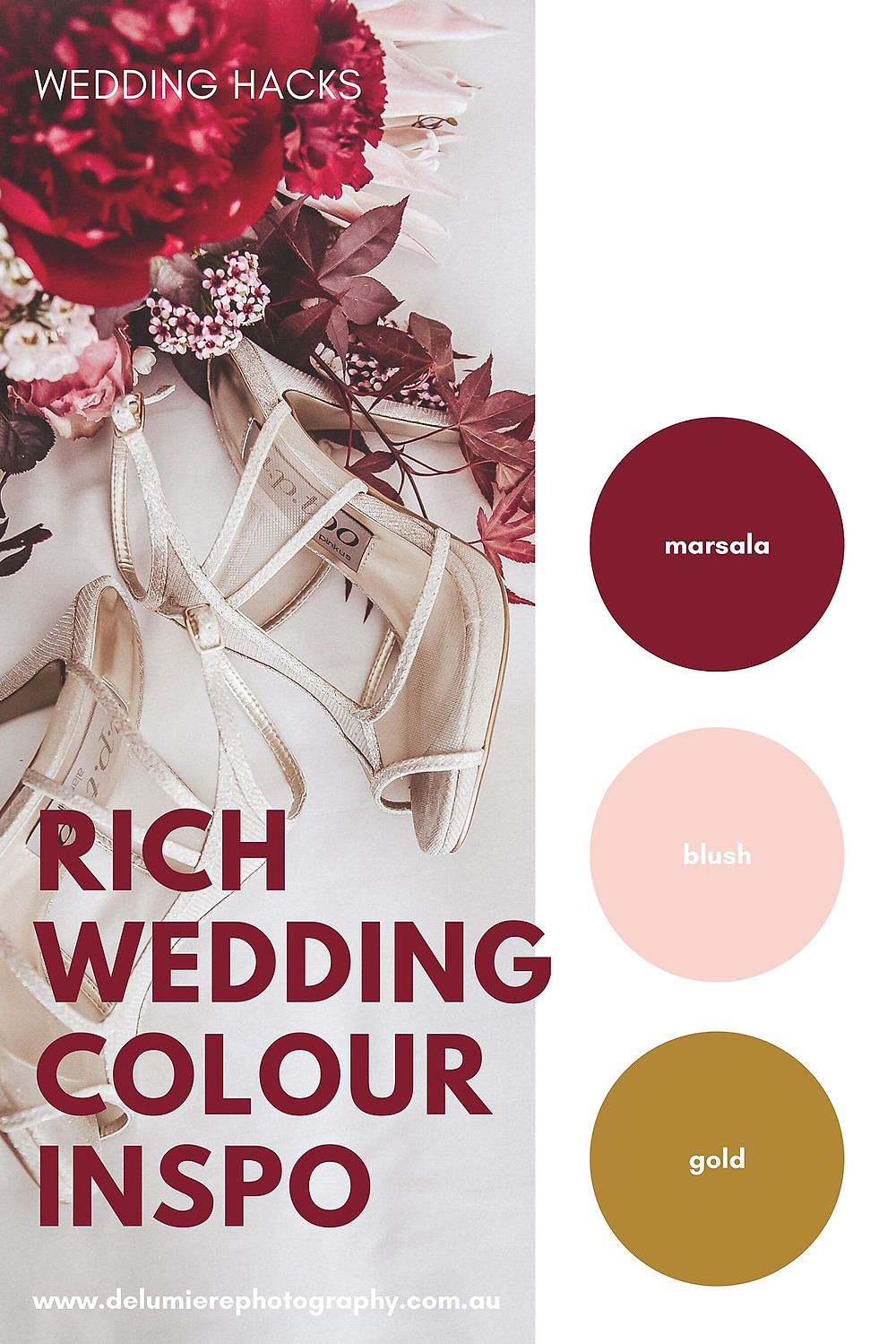 rich wedding colour inspiration