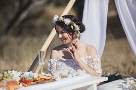 Blue Mountains gypsy boho style shoot photographed by de lumière photography