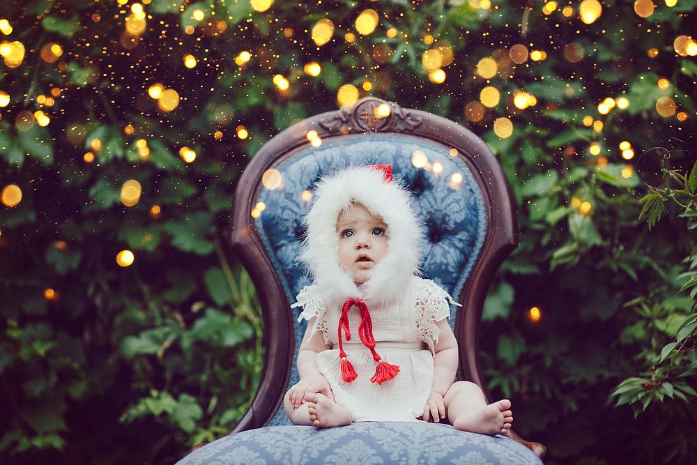 christmas mini portrait session de lumiere photography