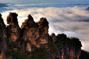 Three Sisters Blue Mountains de lumiere photography