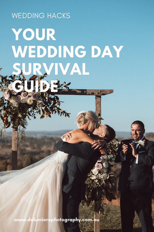 wedding survival guide