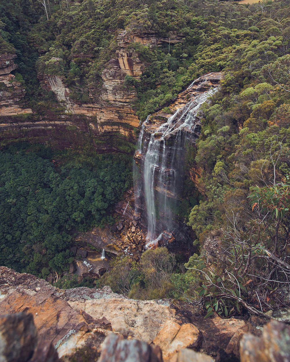 Wentworth Falls Blue Mountains captured by de lumiere photography