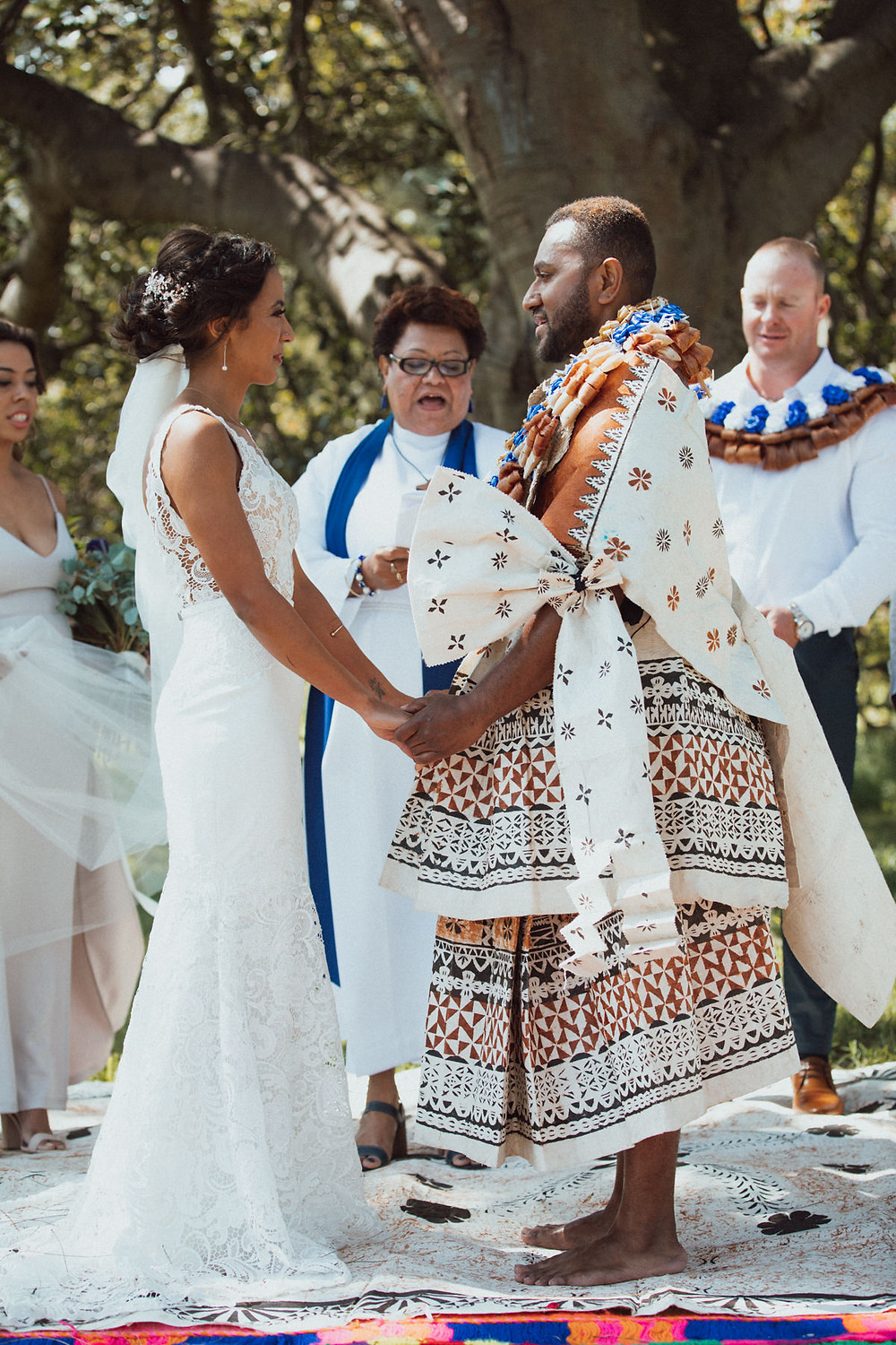 celebrating diversity african and fijian wedding