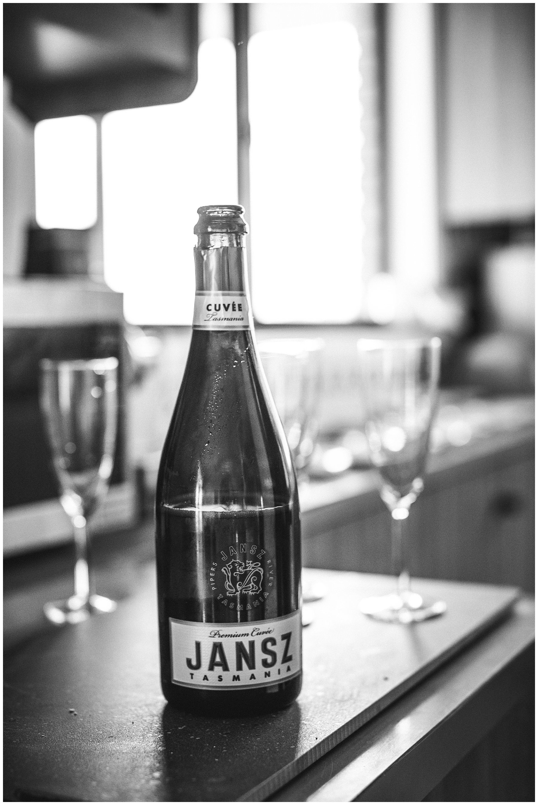 Jansz champagne bottle