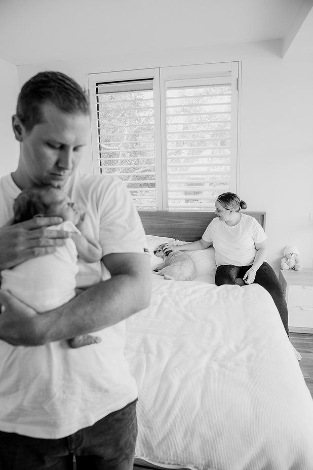 capturing your newborn at home