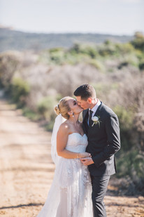 professional wedding photography bride and groom kissing