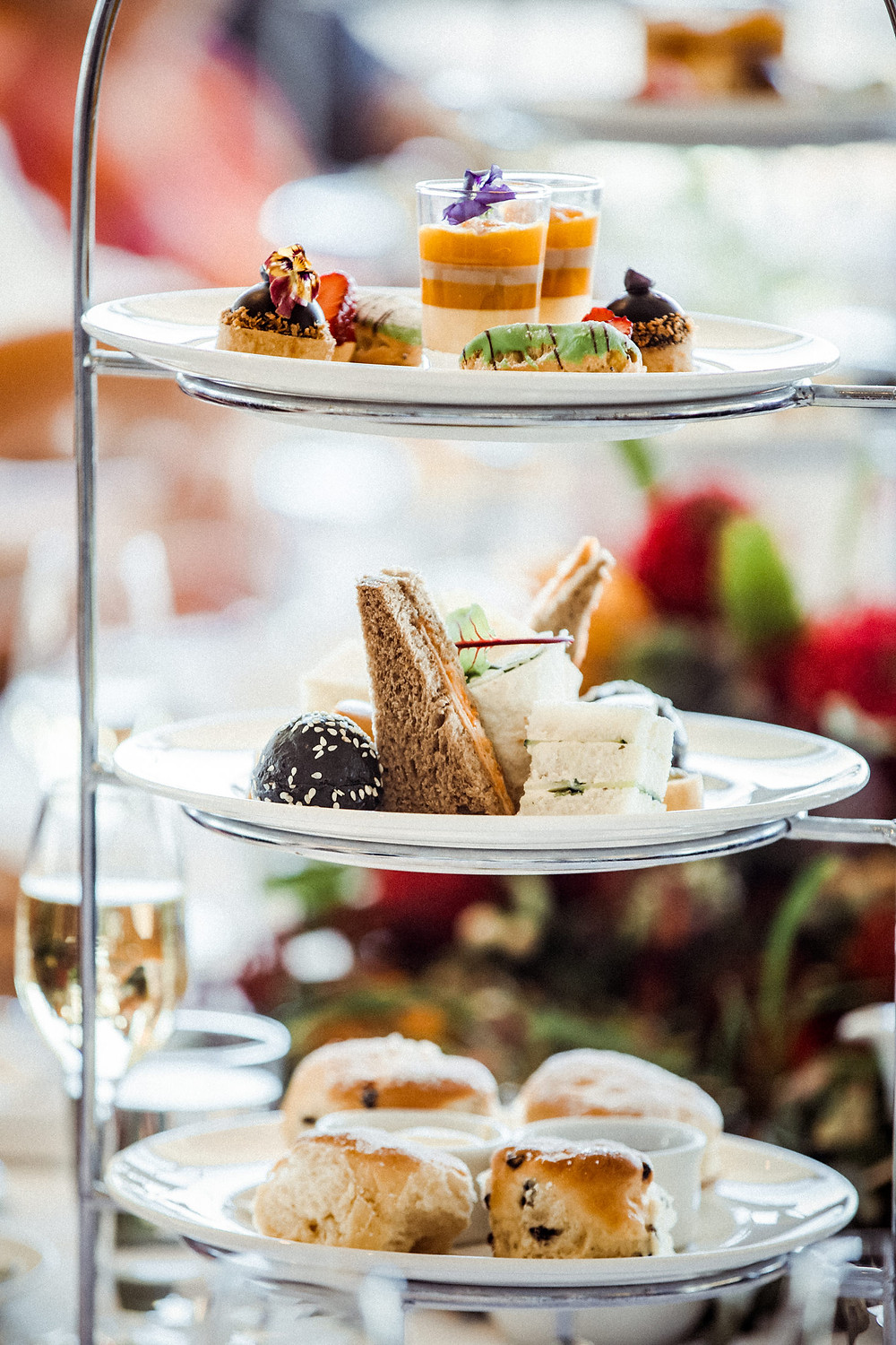 high tea hydro majestic wedding photographer