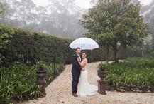 Formal wedding portraits by de lumière photography