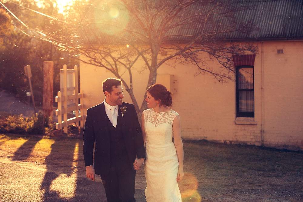 Blue Mountains winter wedding day photographed by de lumière photography