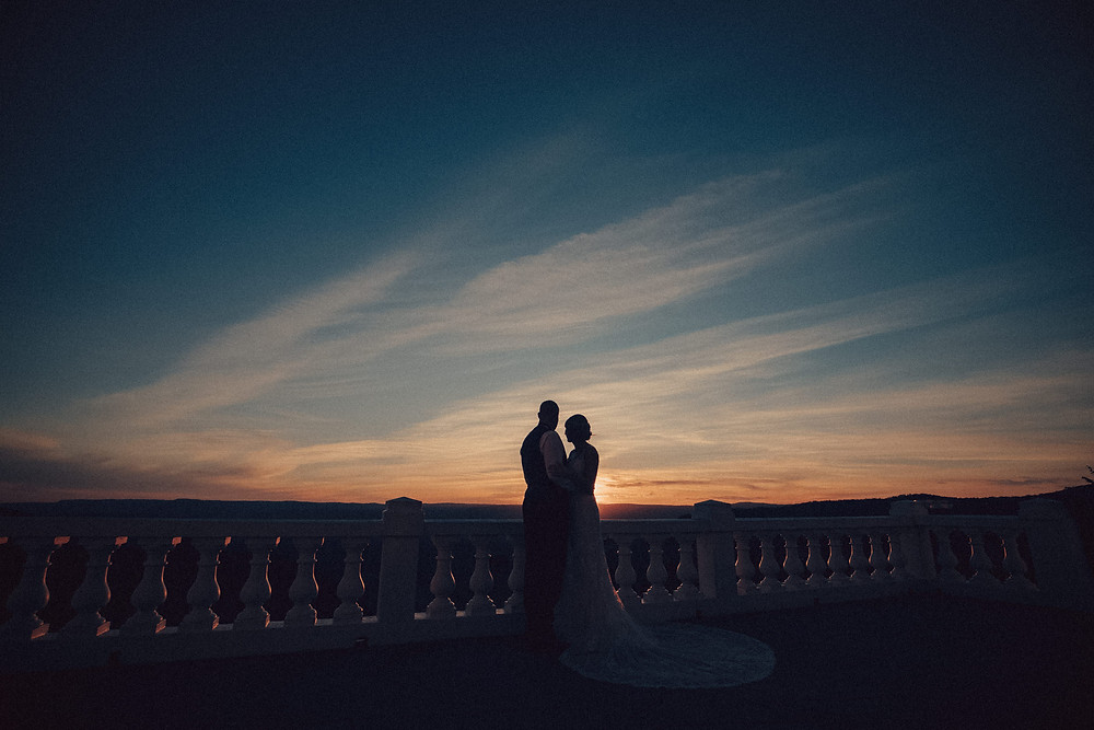 sunset hydro majestic wedding photographer