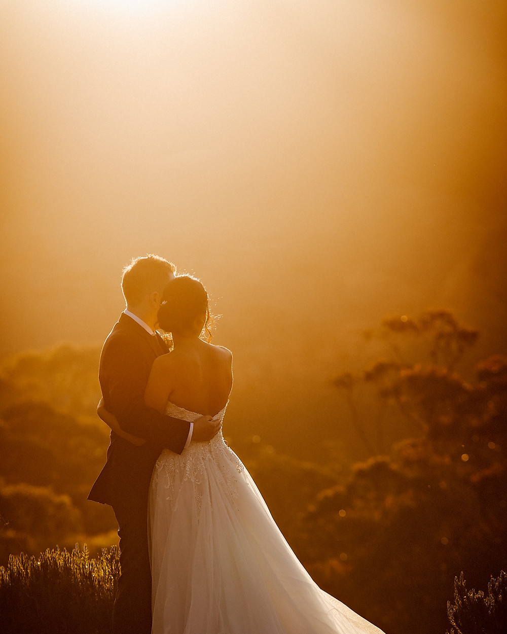 bridal portraits sydney wedding photographer