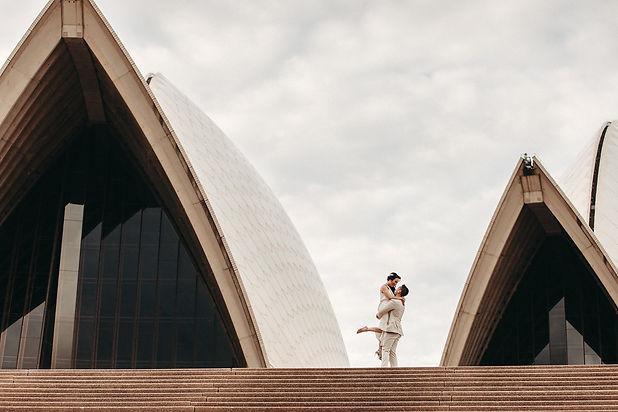 Xia and Josh Royal Botanic Gardens Opera