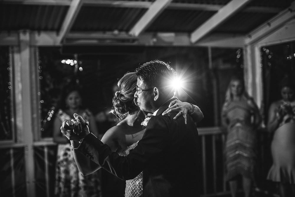 father daughter dance de lumiere photography destination wedding photographer