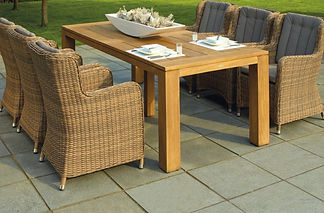 Patio cleaning, Hospitality area, Slabs, Outside Seating, Garden furniture
