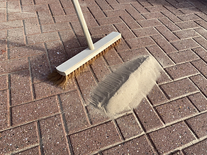 Driveway cleaning, Block paving cleaning, Block paved driveway, Block paving, Kiln dried sand