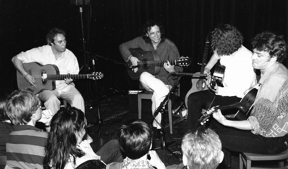 Tonic Strings mit Ralf Siedhof & Manuel Delgado