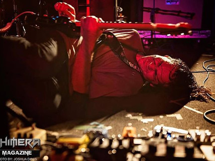 Alex Rolling on the floor at the Lost Horizon!