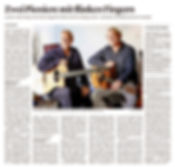 30 Jahre Tonic Strings - zwei Pioniere m