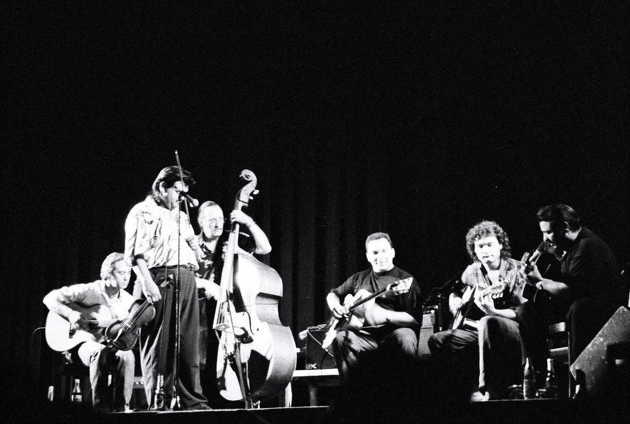Tonic Strings mit Hänsche Weiss & Birelli Lagrene