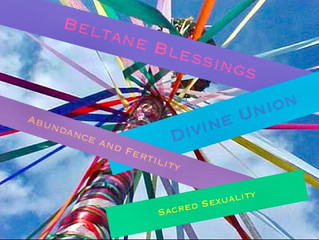 Beltane is Coming! Celebrate Sacred Sexuality