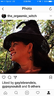 The Orgasmic Witch in the groves.
