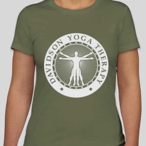 Women's DYT Tee Army Green