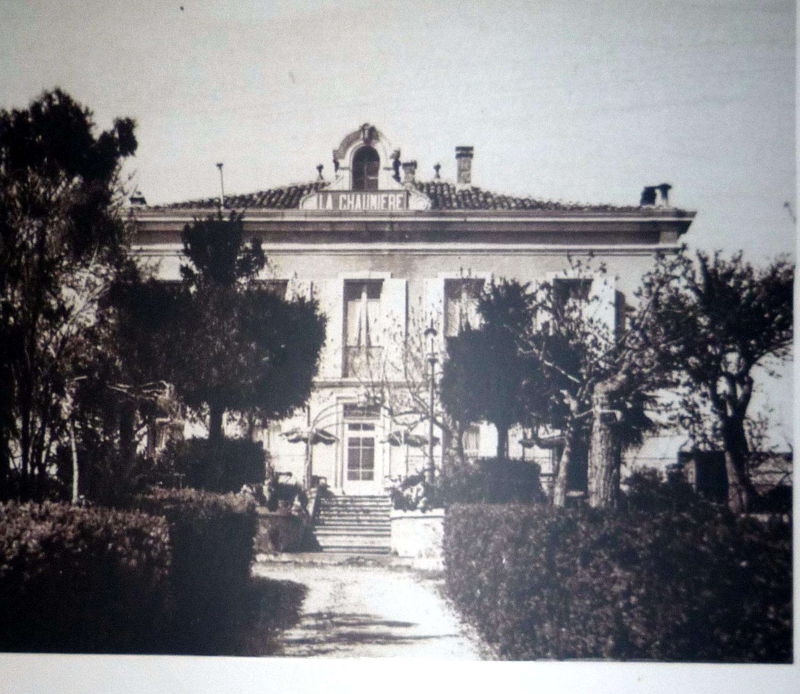 the villa around 1920