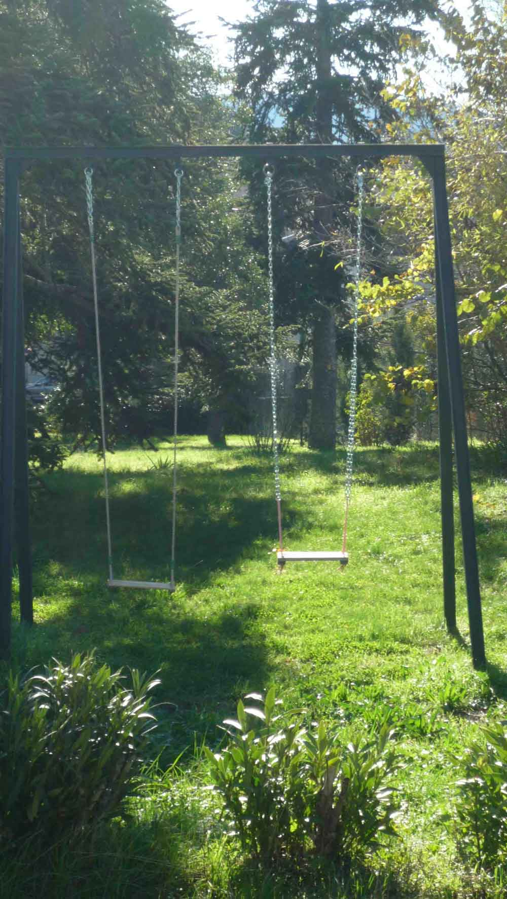 swings for adults and children