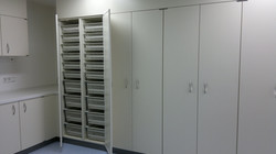 Medical cabinets storage solutions
