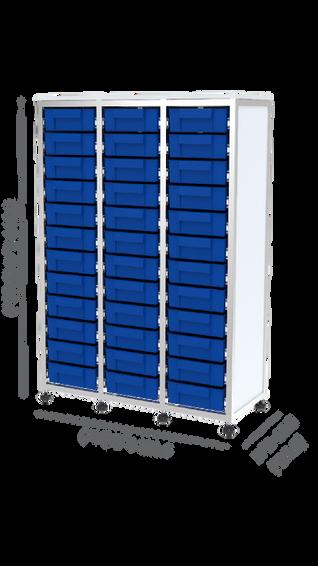 מערכת SIMA חצי גובה משולש 36 מגירות תאים