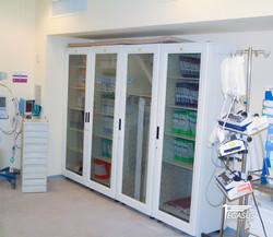 Catheter cabinets storage solutions