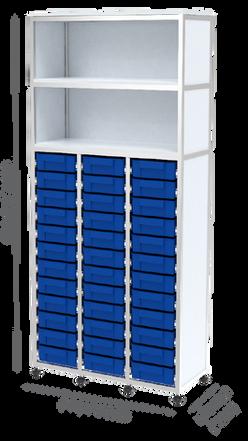 מערכת SIMA משולב מגירות תאים משולש