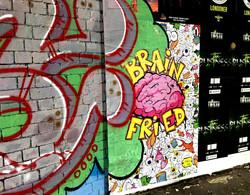 Shoreditch graffiti, London