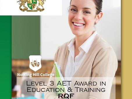 Pass your L3 AET qualification...VAK Learning