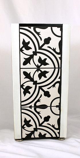 Table - White Black Victorian